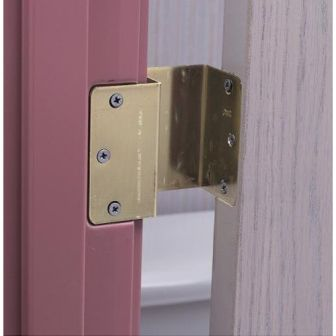 Brass Offset Swing Clear Door Hinges Expandable Door