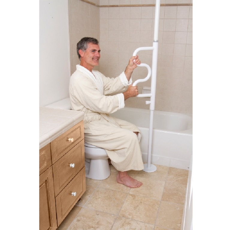 Security Pole Amp Grab Bar By Standers Tension Mount