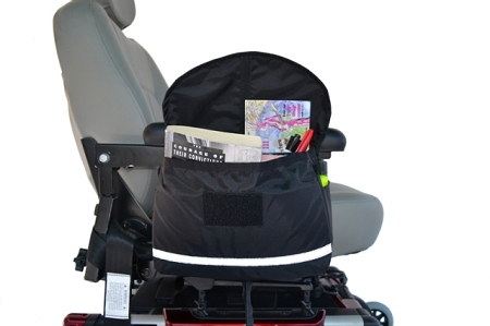 Deluxe Wheelchair Saddle Armrest Bag