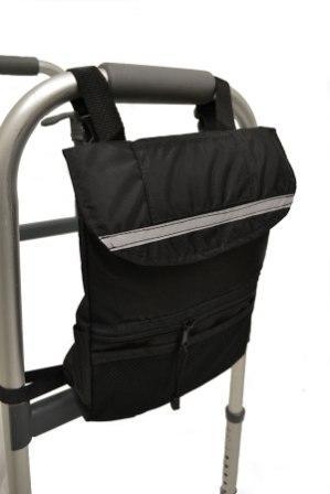 Deluxe Walker Side Bag Multiple Storage Pockets