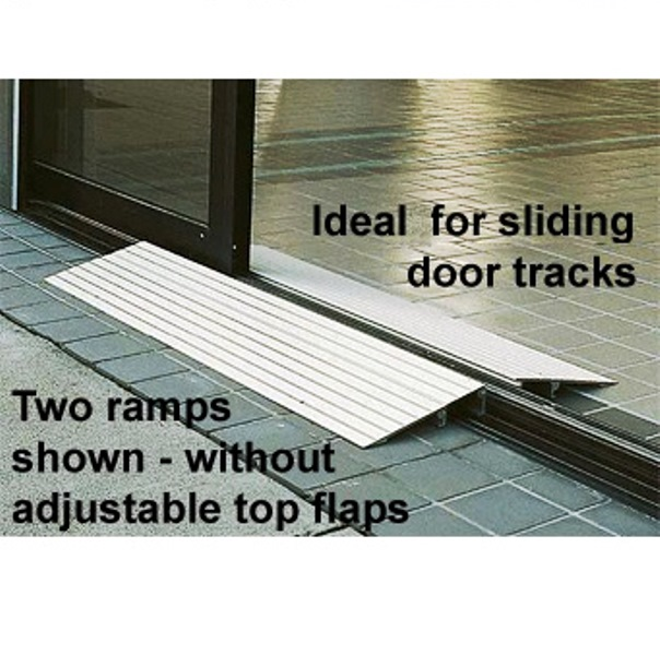 Ez Access 1 Inch Aluminum Threshold Ramp Portable