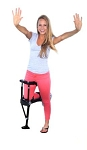 iWALK 2.0 Hands Free Alternative Crutch