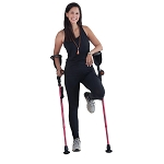 Ergobaum 6G Shock Absorber Adult Forearm Crutches