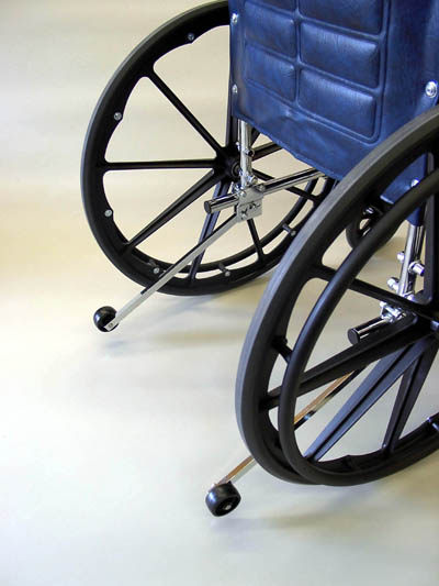 Safe-t-mate Rear Anti-Tippers for Wheelchairs