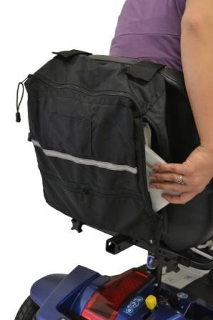 Side Access Bag for Wheelchairs