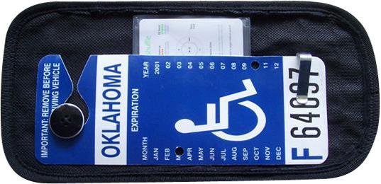 HANDI-CARD-Handicap-Permit-Visor-Display