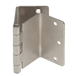 offset door hinges. offset swing clear door hinges satin nickel c