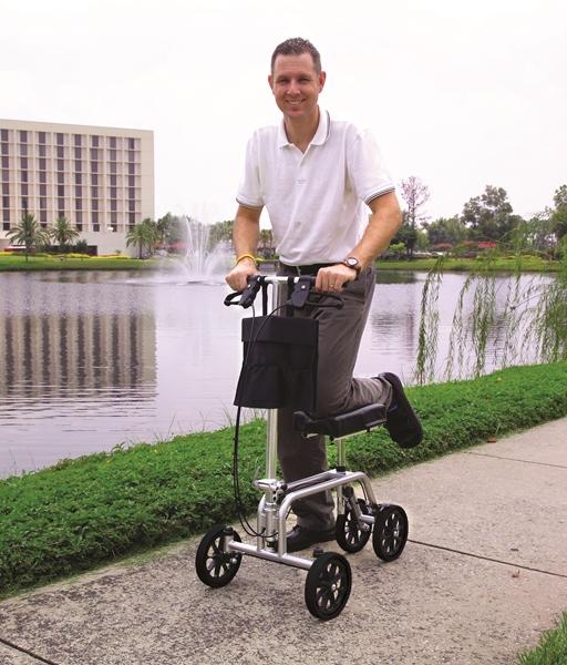 Essential Medical Leg Support Walker