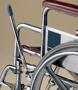Wheel Lock Extensions :: increase wheelchair safety