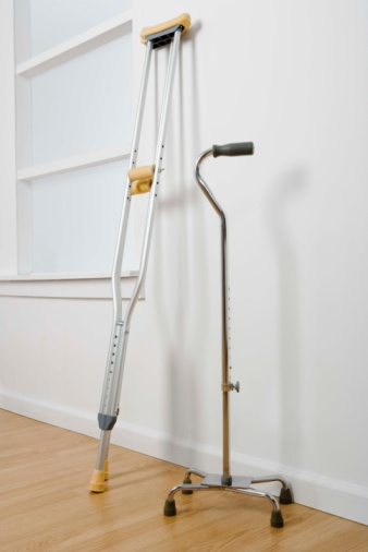 Choosing and Using Canes and Crutches