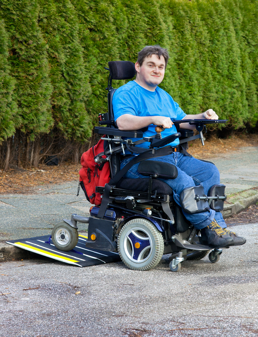 Mobility Aids for Wheelchairs or Scooters