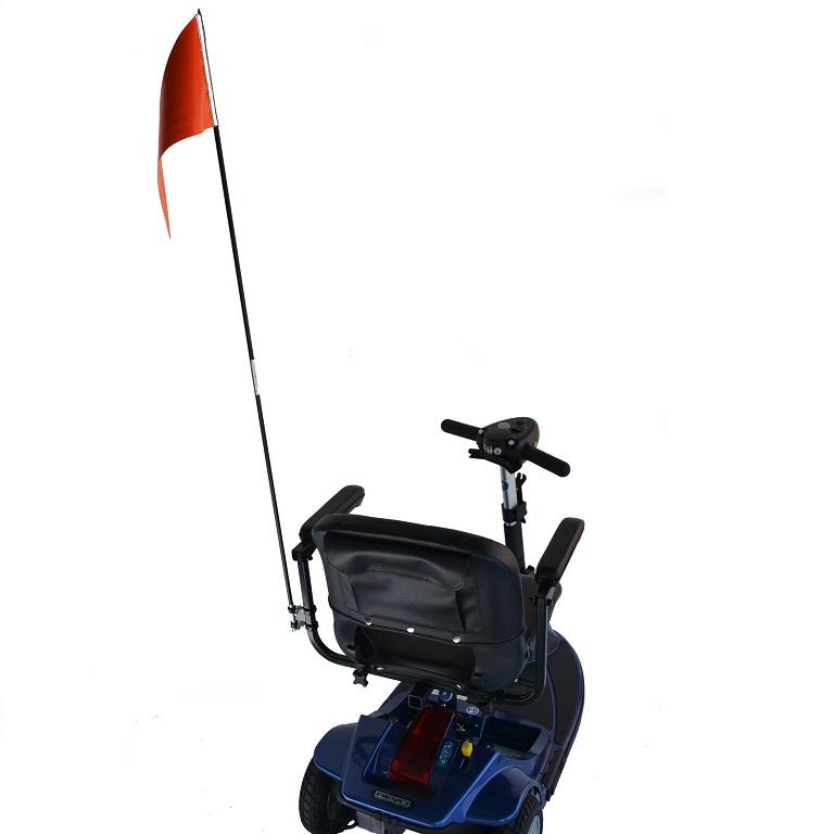 Folding Wheelchair Safety Flag
