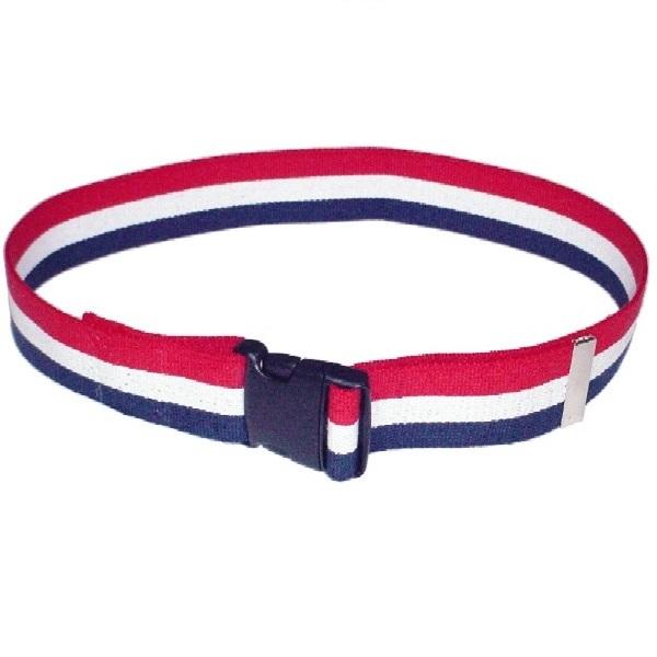 Economy-Gait-Belt-Patriot-Stripe-with-Quick-Release-Buckle