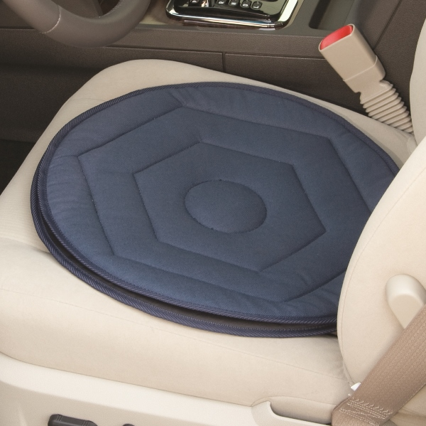 Auto Swivel Seat Cushion By Standers Is A Rotating For People Who Have Difficulty Turning To Get Out Of Car