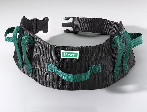 Posey-Six-Handled-Gait-Belt-Quick-Release-Buckle