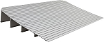 EZ Access 4 inch Aluminum Threshold Ramp