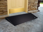 Rubber 2.5 inch Threshold Ramps with Beveled Edges