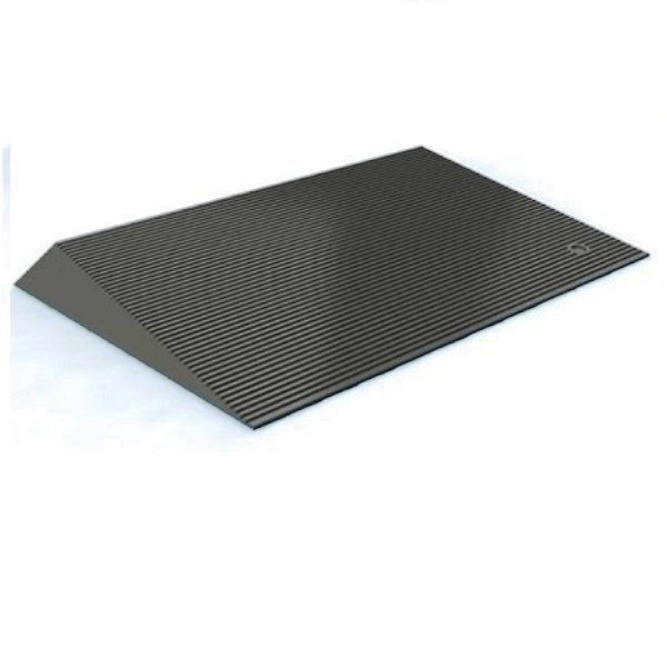 Rubber 1.5 inch Threshold Ramps with Beveled Edges