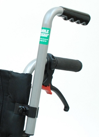 Wheelchair Push Handle Extenders 8 Inch Extensions For