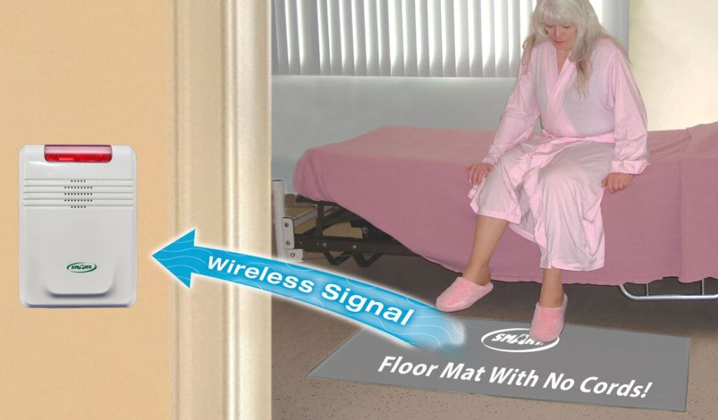 Smart Caregiver Cordless Alarm and Floor Pad