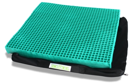 EquaGel Straight Comfort Gel Wheelchair Cushion