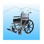 Aqua Creek 20 inch Stainless Steel Aquatic Wheelchair