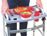 Universal Walker Tray with Cup Holders