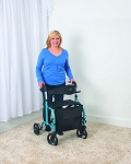 Juvo Mobi Folding Rollator-Transport Chair