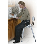 All Purpose Work Stool with Adjustable Arms