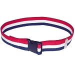 Economy Gait Belt Patriot Stripe with Quick Release Buckle
