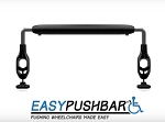 Push Bar for Wheelchairs