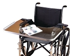 Bariatric Clear Wheelchair Work Tray