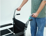 Wheelchair Push Handle Extenders : 8 inch