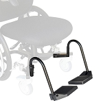 Revo Slim Daily Living Wheelchair Foot Plates