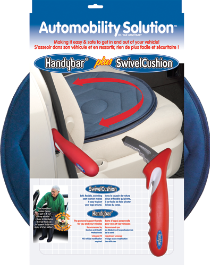 Automobility Solution Handybar Swivel Seat Cushion By Standers