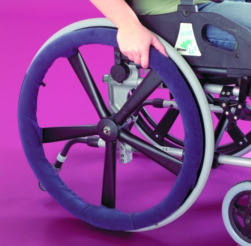 awesome grip wheelchair hand rim covers rh mobility aids com Invacare Wheelchair Accessories Invacare Wheelchair Accessories