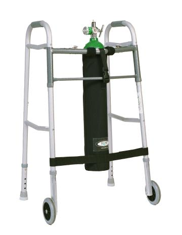 TO2TE E Size Oxygen Cylinder Holder for Walkers