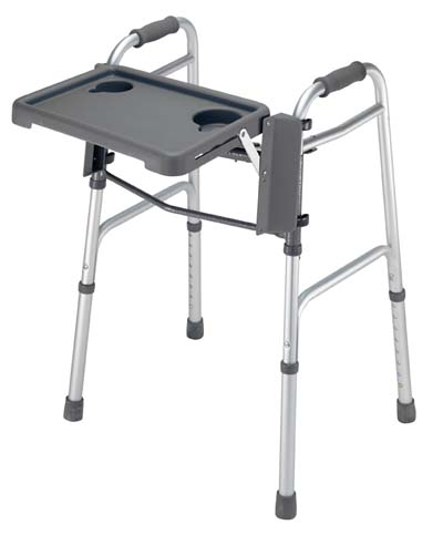 FoldAway Walker Tray folding tray table for walkers