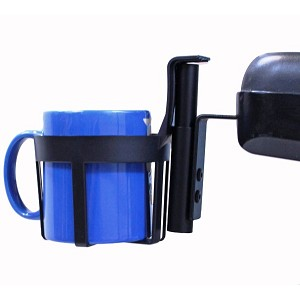 Wheelchair and Scooter Armrest Cup Holders