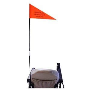 Folding Wheelchair Safety Flag