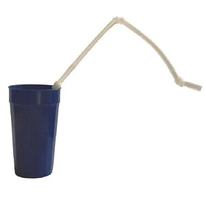 Flexible Super Long Drinking Straws Package of 50