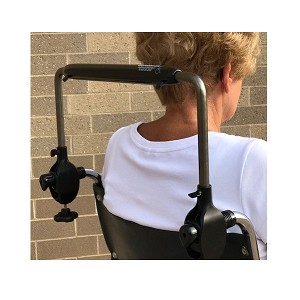 Tall Push Handlebar for Wheelchairs