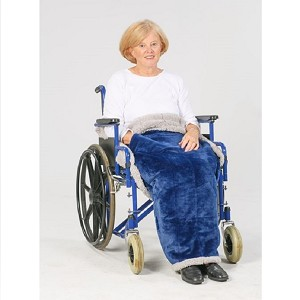 Granny Jo Fleece Wheelchair Lap Blanket