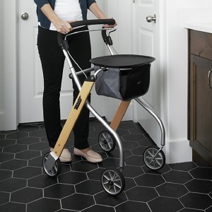 Trust Care Let's Go Indoor Rollator by Stander