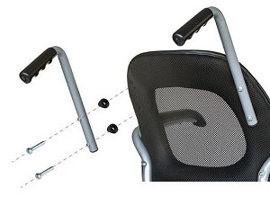 Revo Slim Daily Living Wheelchair Push Handles