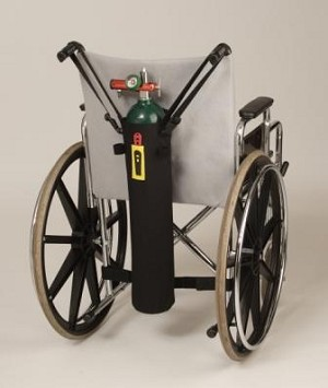 TO2TE E Size Walker & Wheelchair Oxygen Tank Holder